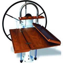 Sailboat steering