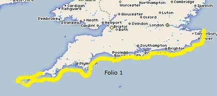 Admiralty - Folio 1-England S Coast & Scillies
