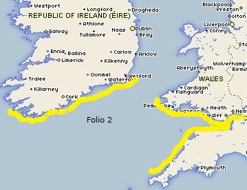 Admiralty - Folio 2-Bristol Channel & South Ireland