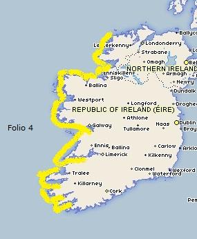 Admiralty - Folio 4-Ireland W C-Kenmare R-Foreland