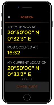 GPS Screen example