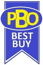 PBO Best Buy badge