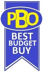 PBO Best Budget Buy logo
