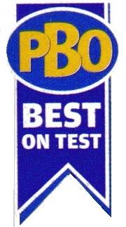 PBO Best on Test Logo