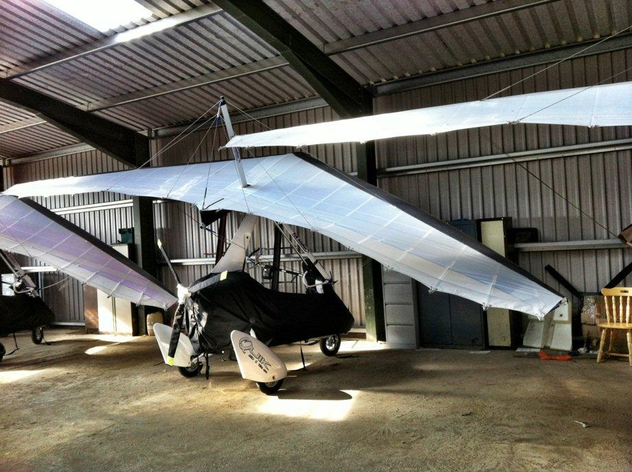 Sail Loft produces cover for Microlight