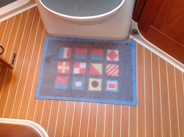 Picture of Turtle Mat on Rob's boat