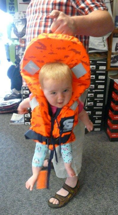 Fitting Children's Lifejackets