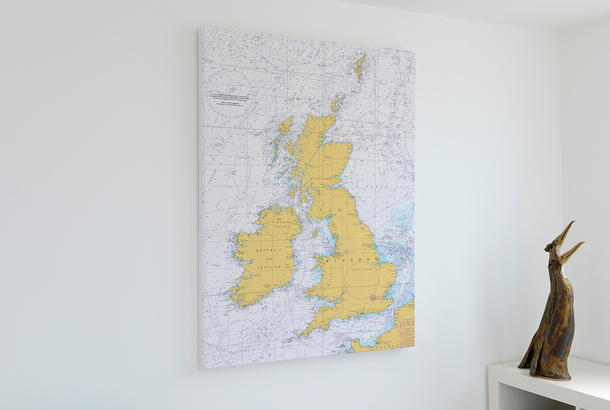 Admiralty Charts On Canvas | www.marinechandlery.com