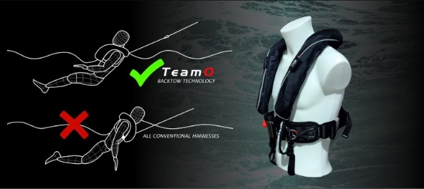 The new, revolutionary Team O Offshore Lifejacket