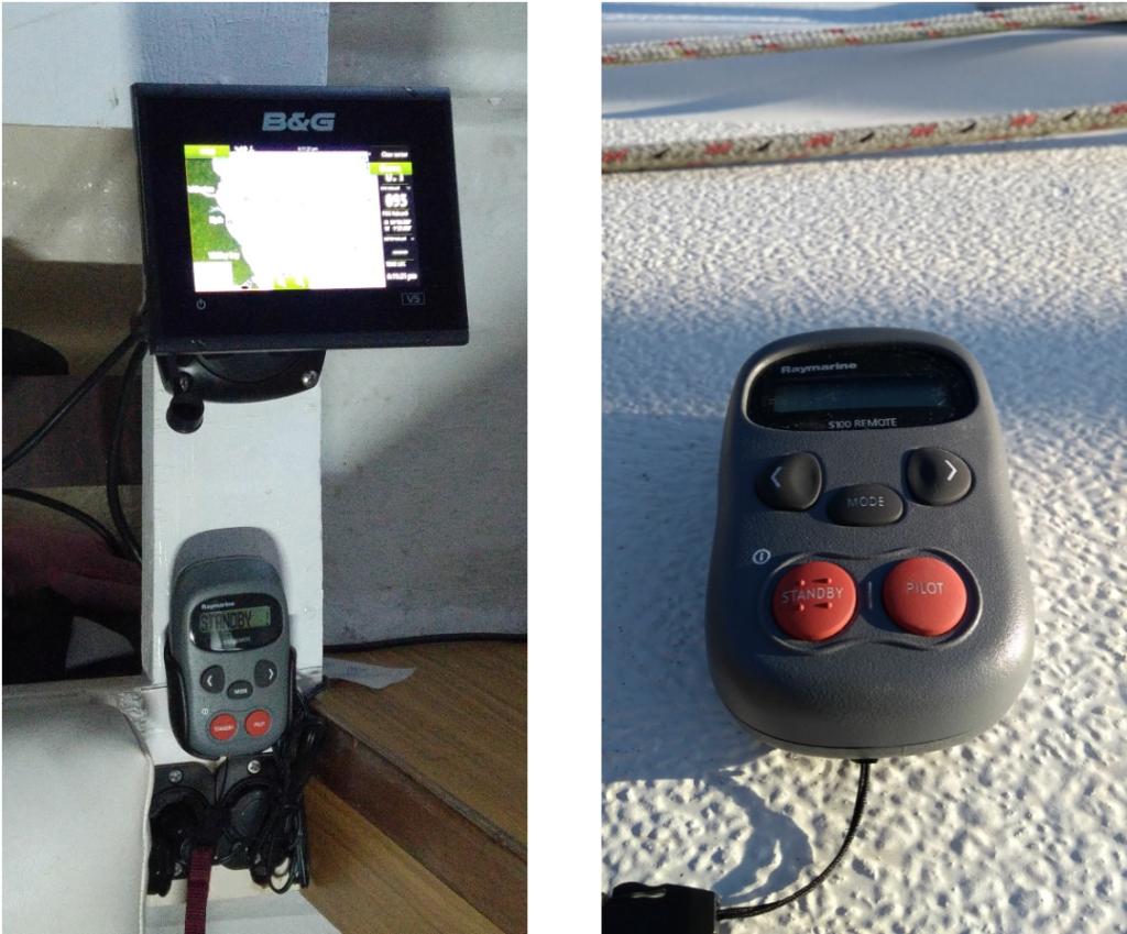 Raymarine S100  Remote Control