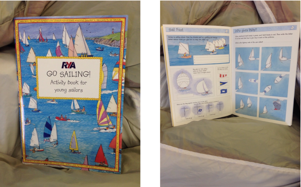 RYA G45 - Go Sailing - Activity  book for young sailors